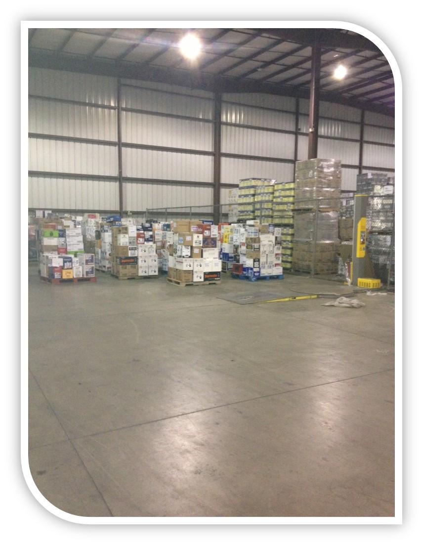 Oregon OH Warehouse