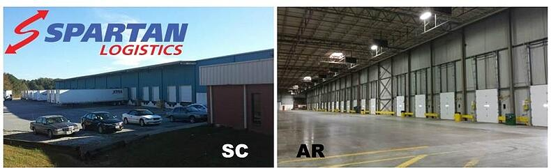 SC and AR Warehouse Space for Lease