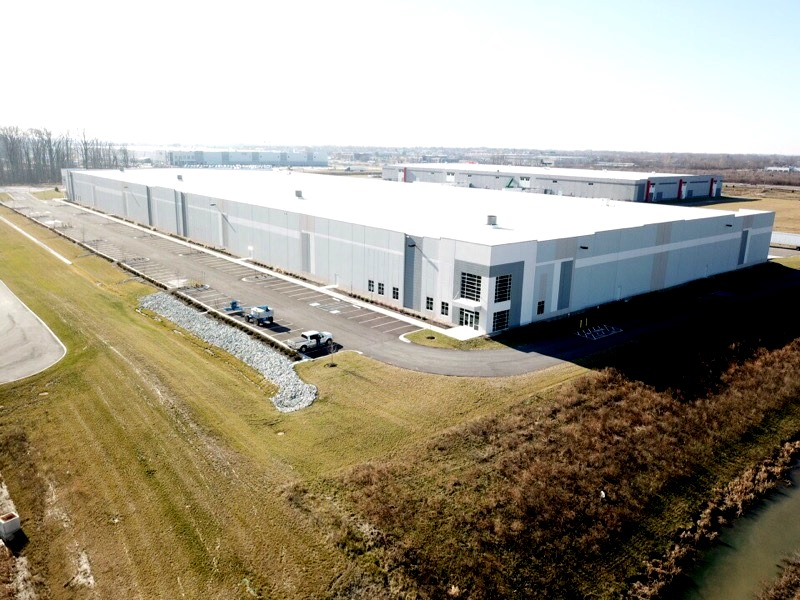 Spartan Exterior of Indianapolis warehouse