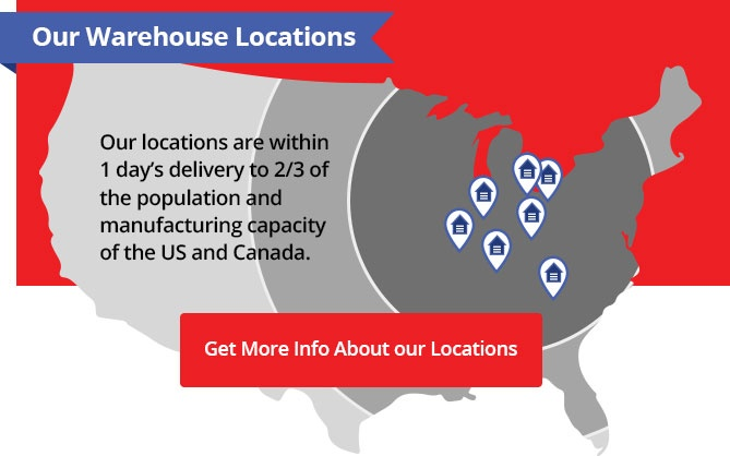 Our Warehouse Locations
