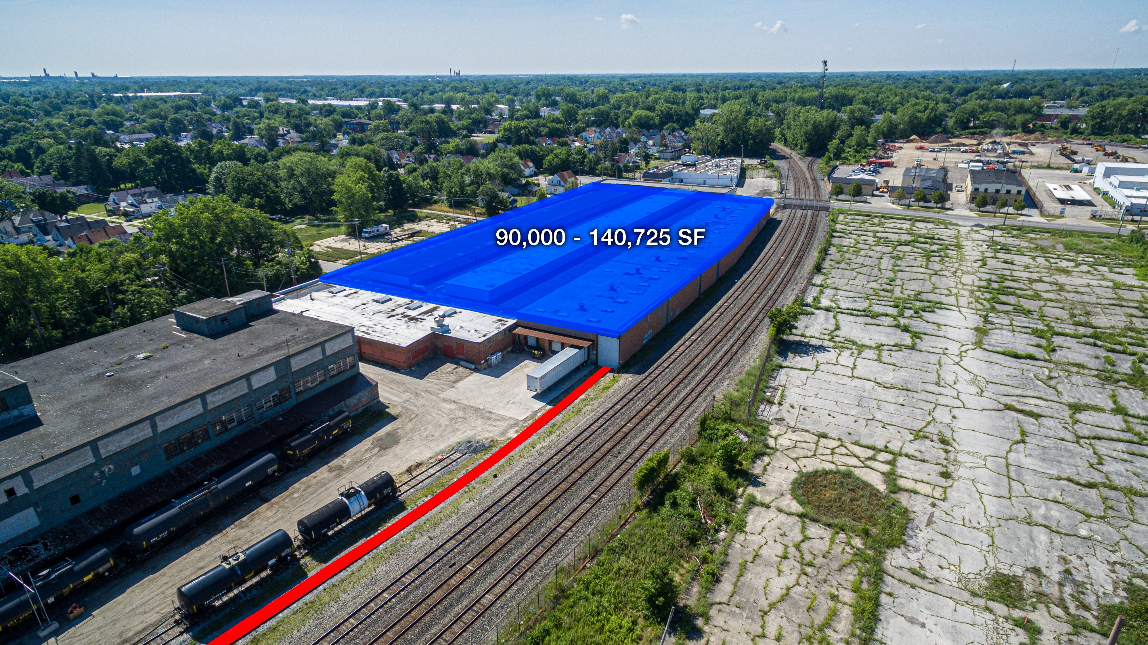Choose a rail warehouse in Toledo, Ohio