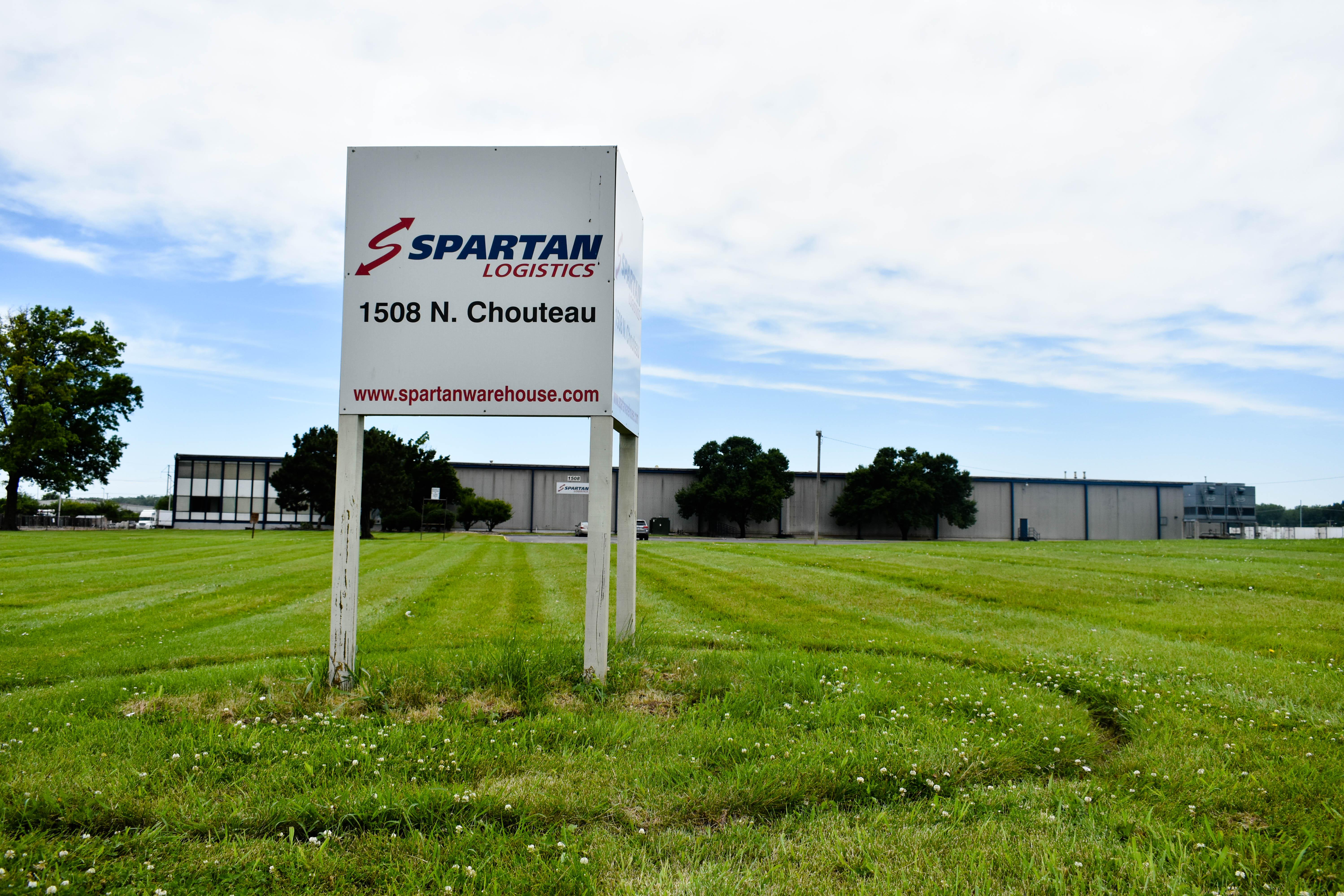 Spartan Logistics Kansas City MO Entrance