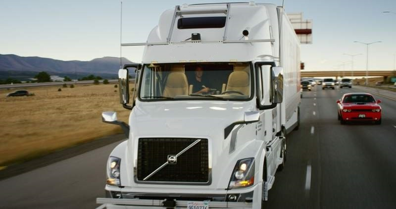 Self-Driving Trucks-The Emerging Trend